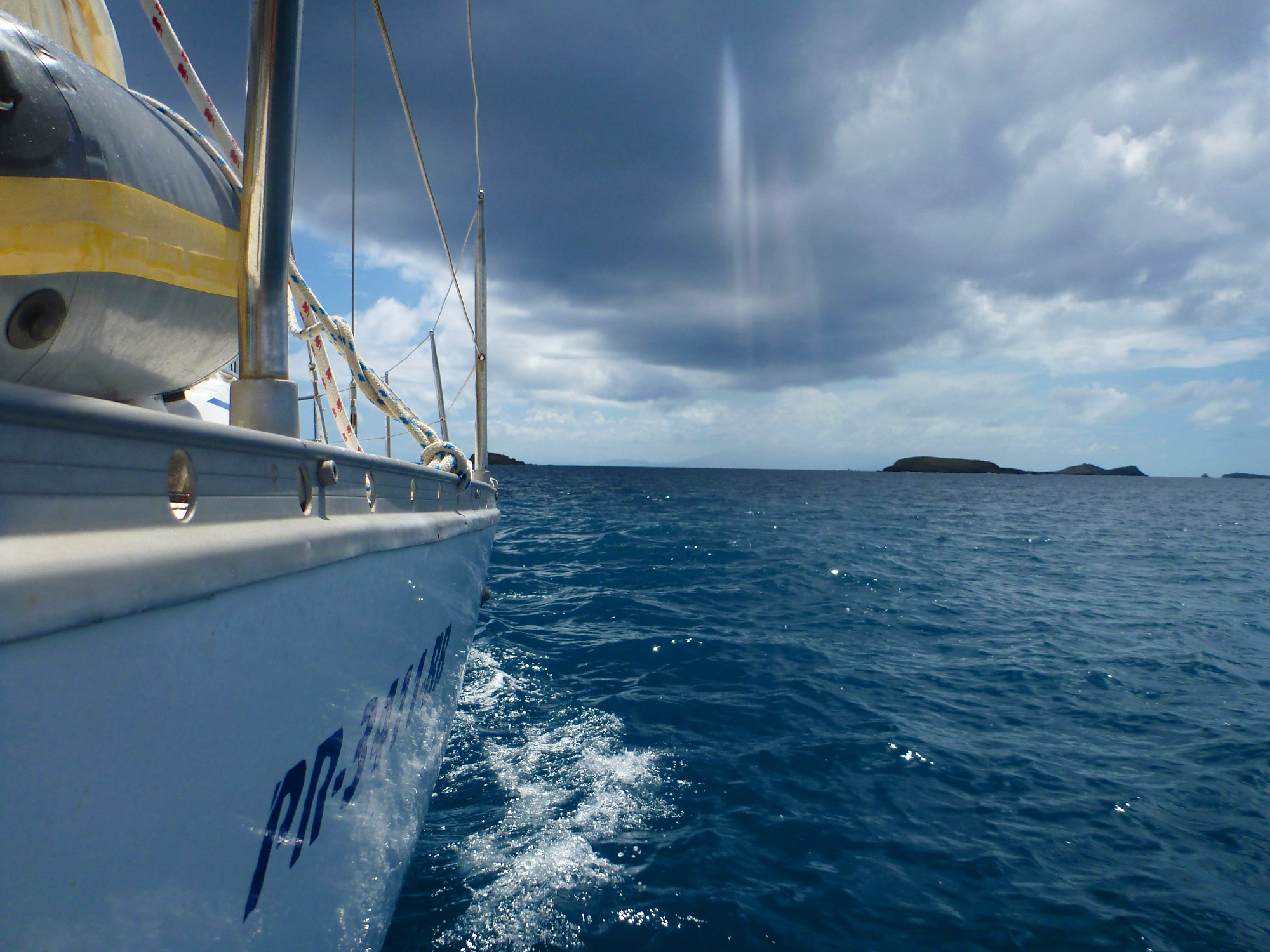 Rain off the Starboard.