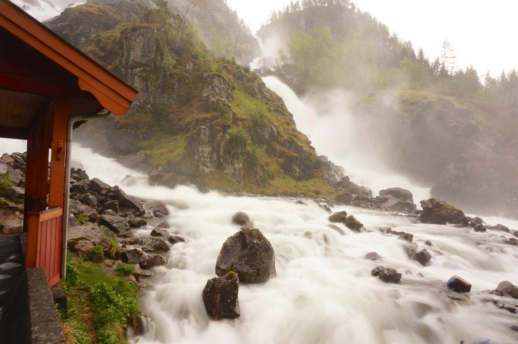 Latefoss Waterfall