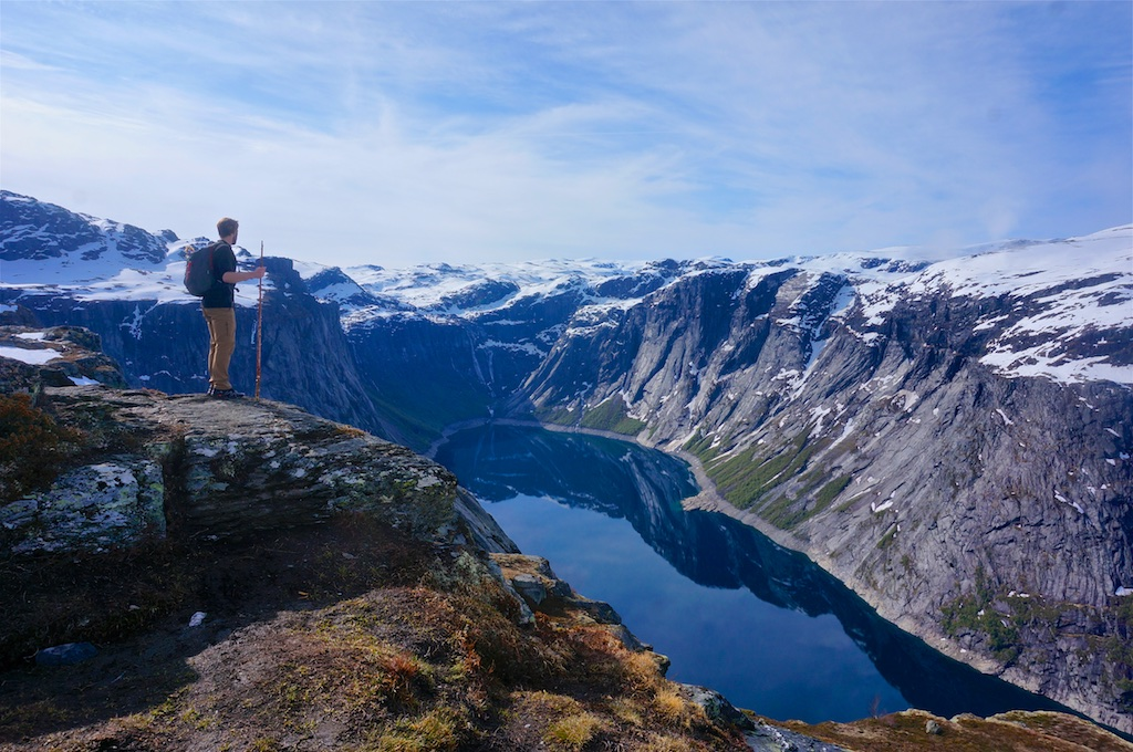 Norway Part 3: The Trolltunga Hike, a Postholing Adventure.